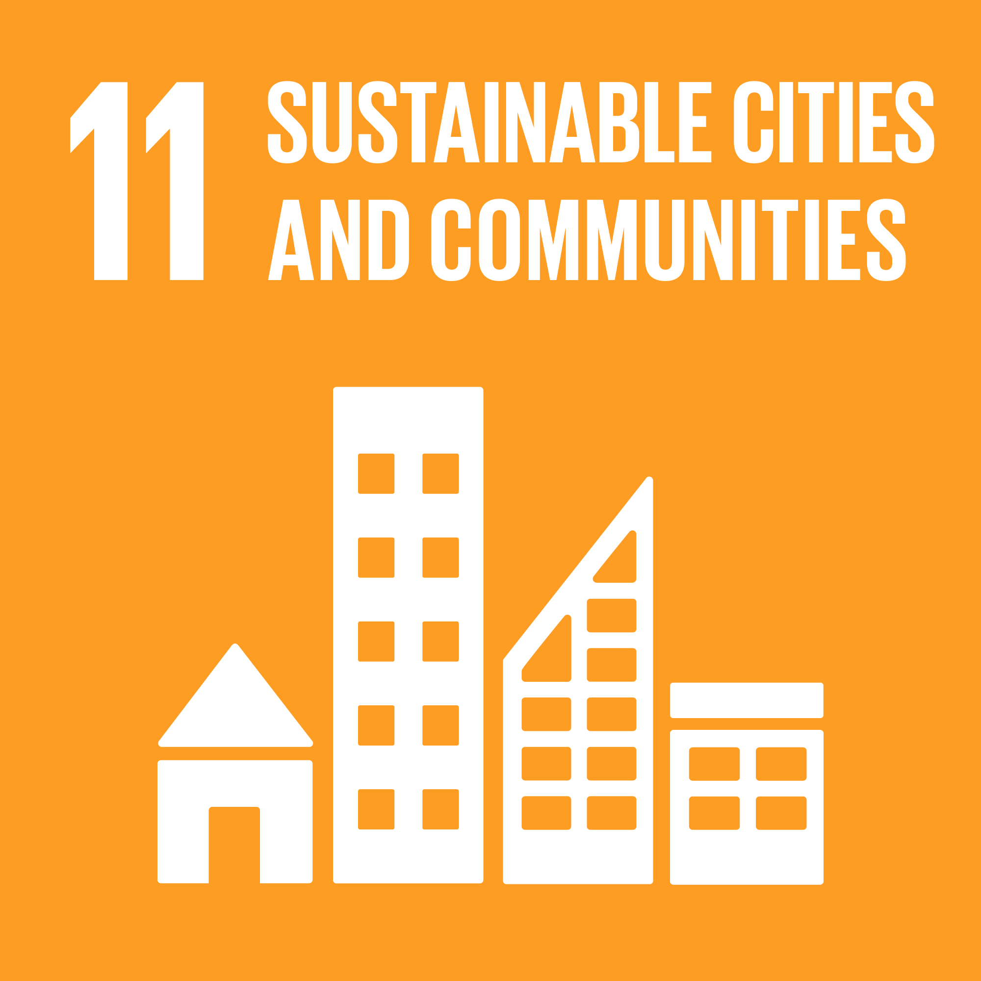 Agenda 2030 goal number 11: sustainable cities and communities